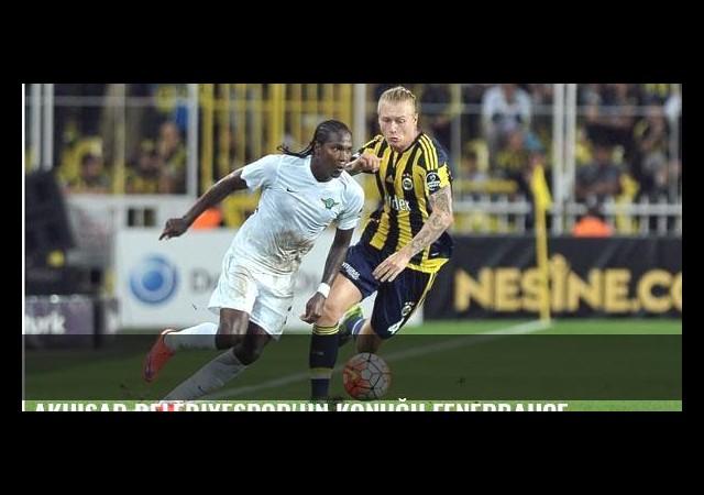Akhisar Belediyespor'un konuğu Fenerbahçe