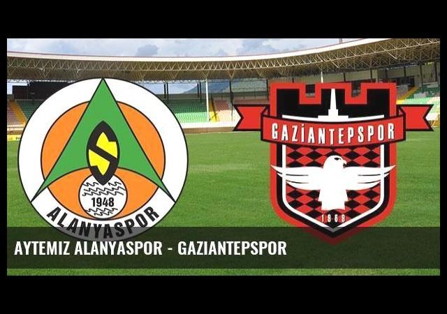 Aytemiz Alanyaspor - Gaziantepspor