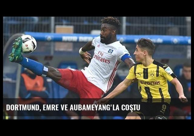 Dortmund, Emre ve Aubameyang'la coştu
