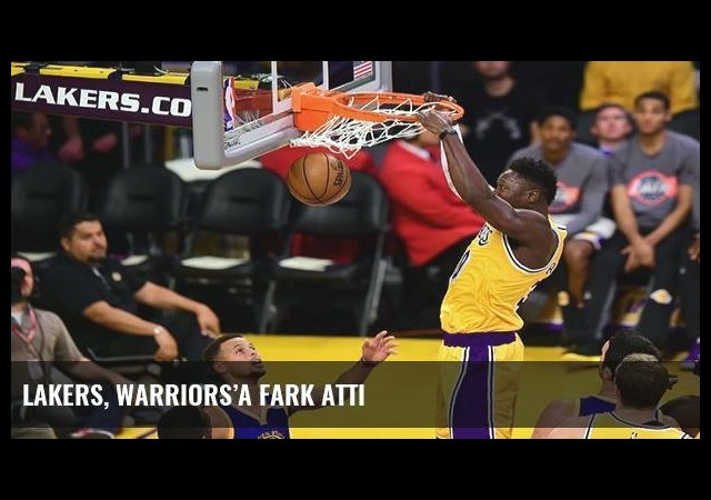 Lakers, Warriors'a fark attı