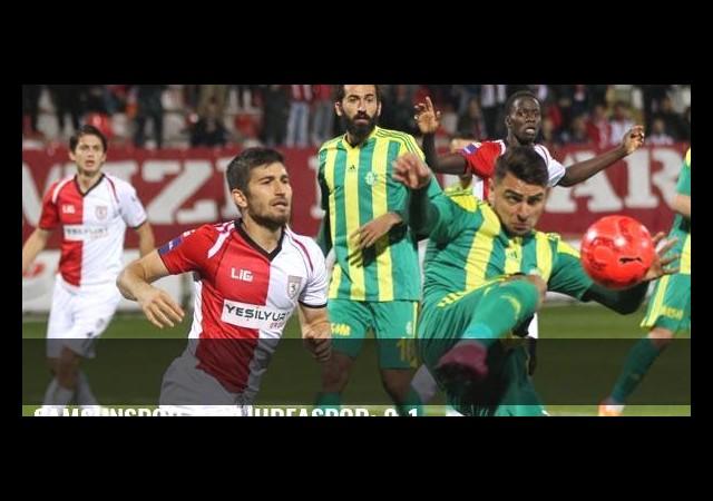 Samsunspor-Şanlıurfaspor: 2-1