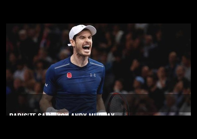 Paris'te şampiyon Andy Murray
