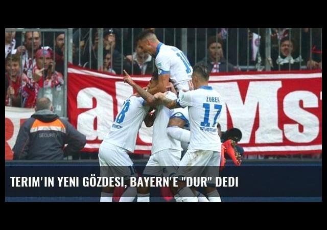 Terim'in yeni gözdesi, Bayern'e 'dur' dedi