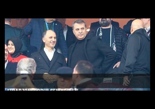 'Trabzonspor'u seviyoruz'