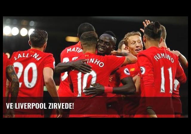 Ve Liverpool zirvede!