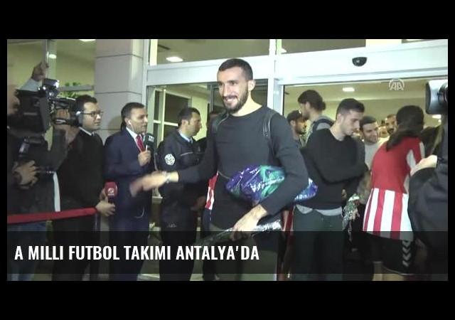 A Milli Futbol Takımı Antalya'da