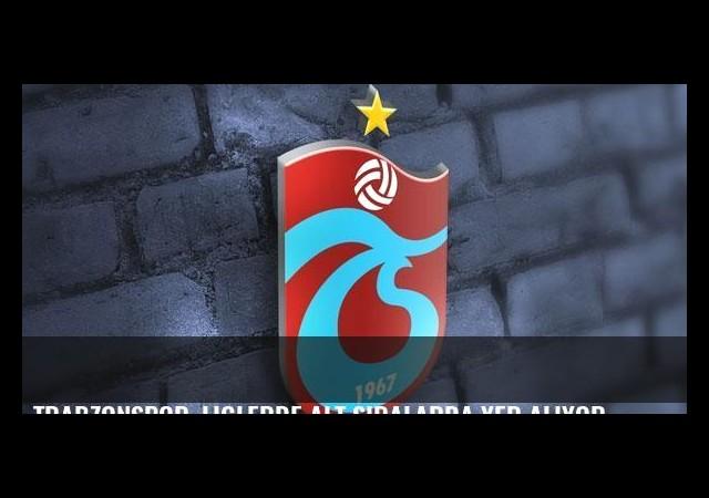 Trabzonspor, liglerde alt sıralarda yer alıyor