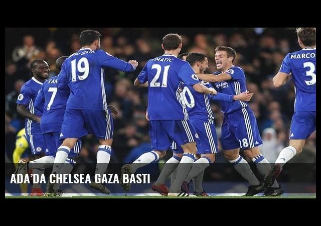 Ada'da Chelsea gaza bastı