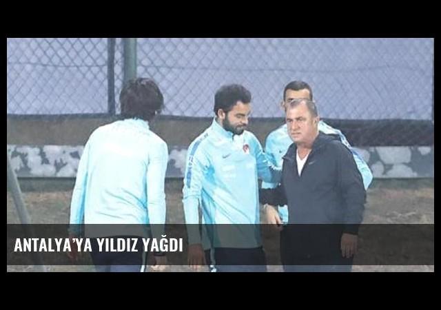 Antalya'ya yıldız yağdı