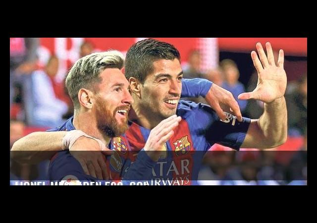Lionel Messi'den 500. gol