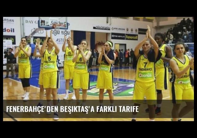 Fenerbahçe'den Beşiktaş'a farklı tarife