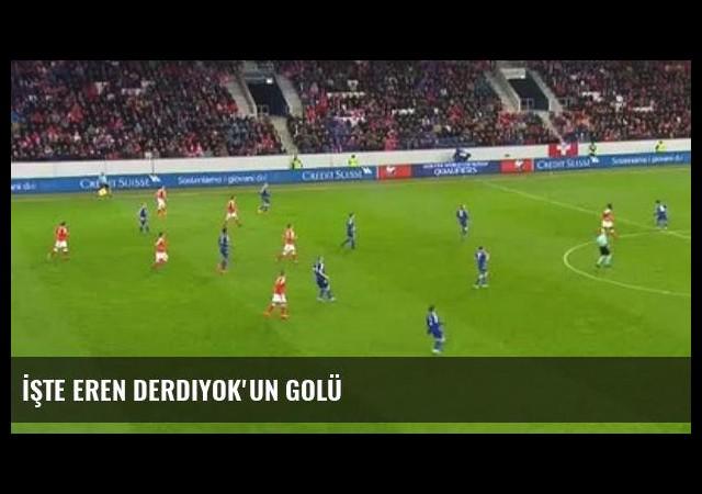 İşte Eren Derdiyok'un Golü