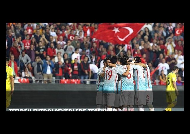 TFF'den futbolseverlere teşekkür