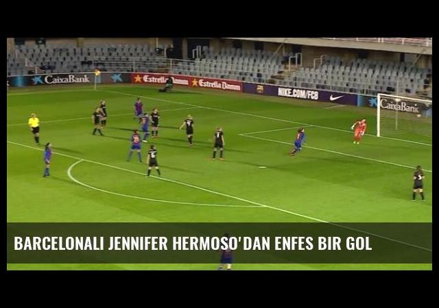 Barcelonalı Jennifer Hermoso'dan enfes bir gol