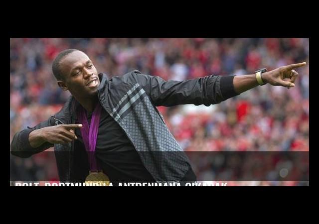 Bolt, Dortmund'la antrenmana çıkacak