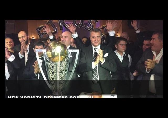 New York'ta Beşiktaş coşkusu...