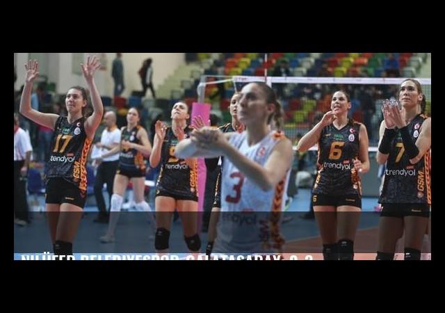 Nilüfer Belediyespor-Galatasaray: 0-3