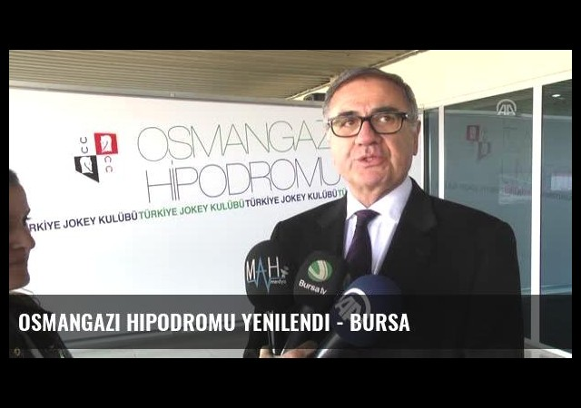 Osmangazi Hipodromu Yenilendi - Bursa