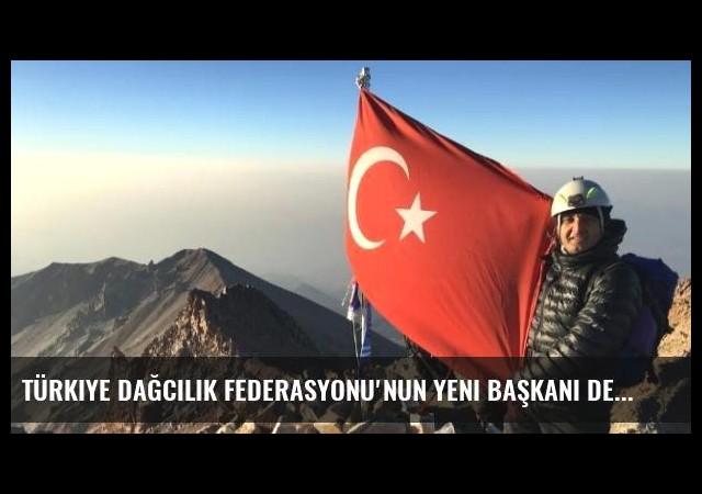 Türkiye Dağcılık Federasyonu'nun Yeni Başkanı Deniz Bilimci Doç. Dr. Ersan Başar Hedeflerini...