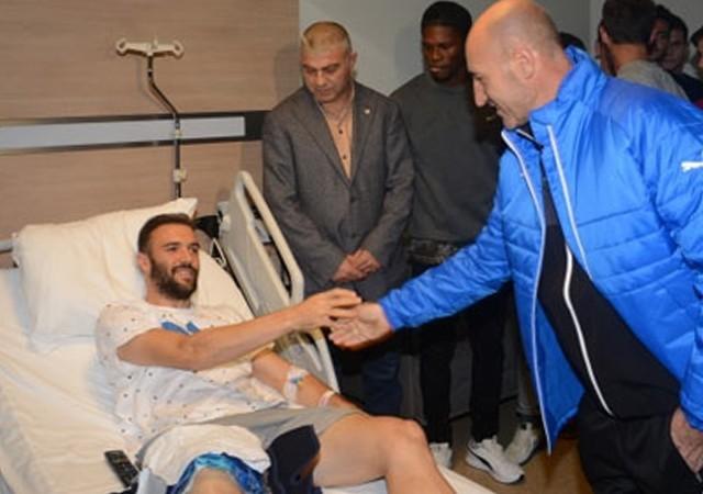 Bursasporlu Serdar Kurtuluş sezonu kapattı
