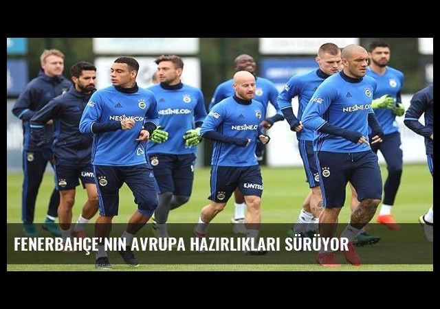 Fenerbahçe'nin Avrupa hazırlıkları sürüyor
