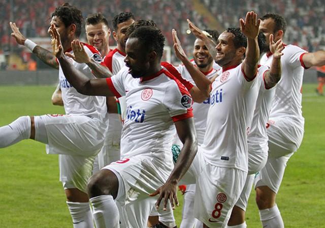 Antalyaspor seriye taktı!