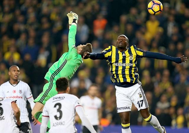 Fenerbahçe-Beşiktaş derbisinde bir ilk yaşandı