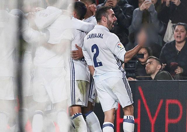 Carvajal'ın hareketi UEFA'nın sosyal medaya hesabında yayınlandı