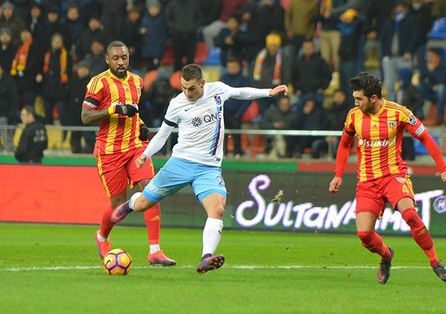 Kayserispor:0  Trabzonspor:1 | Spor Toto Süper Lig