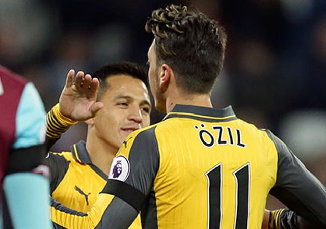 Mesut Özil'den kariyer rekoru