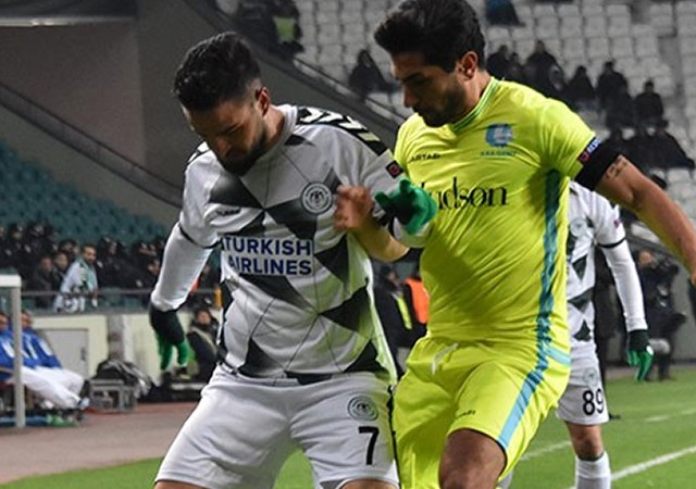 Atiker Konyaspor, uzatmalarda teslim oldu