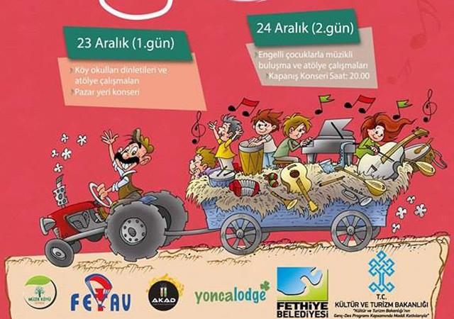 Geçmişten Geleceğe Müzik Yolculuğu Festivali 23-24 Aralık'ta Fethiye'de