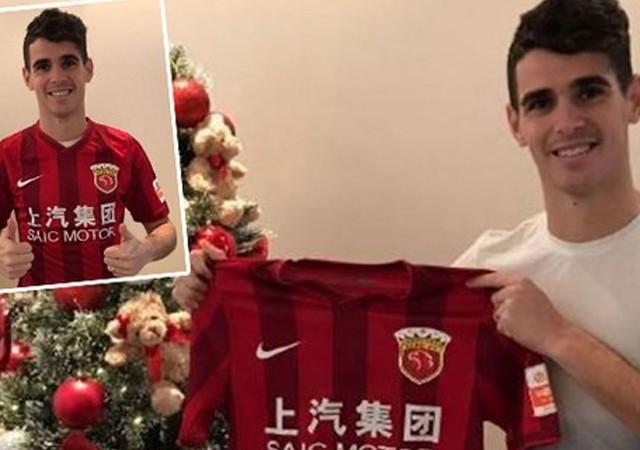 Oscar'ın Çin'e transferi resmen açıklandı!
