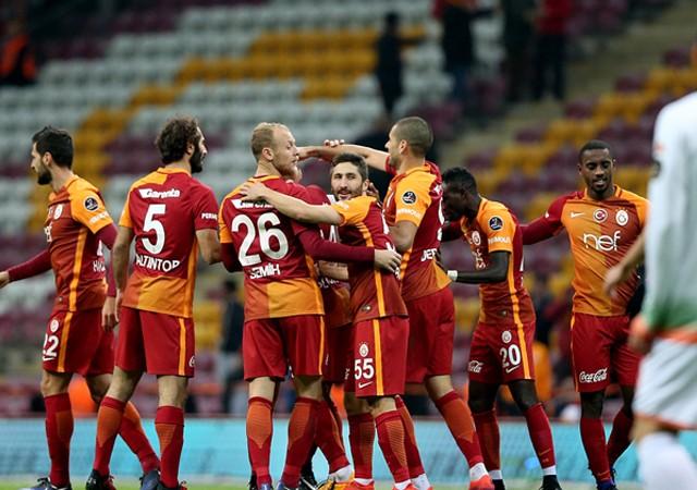 Galatasaray:5 - Alanyaspor:1 | Maç sonucu
