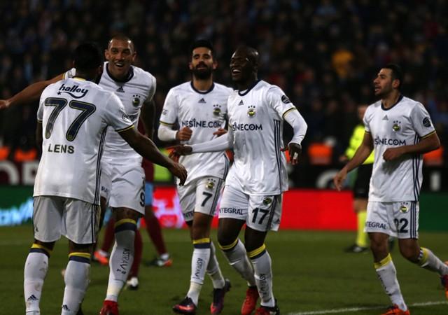 Trabzonspor:0 - Fenerbahçe:3 | Maç sonucu