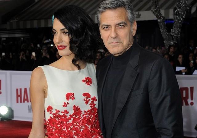 George Clooney ve Amal Clooney çifti ikiz bebek bekliyor iddiası