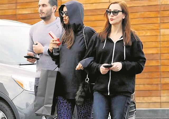 Hamile Irina Shayk alışveriş turunda