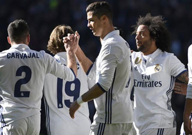 Real Madrid gol yağdırdı!