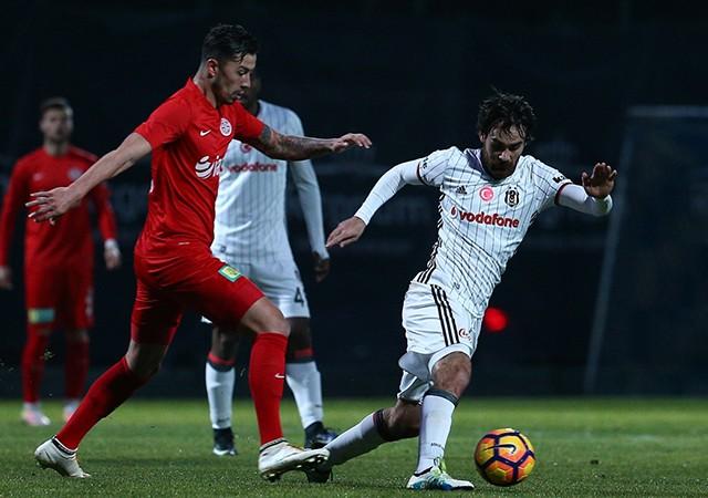 Beşiktaş- Antalyaspor maç sonucu: 2-4