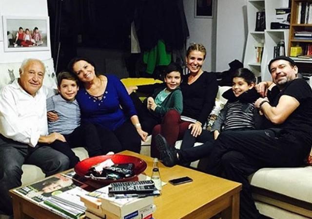 Gülben Ergen'den eski eşi Mustafa Erdoğan'a ziyaret