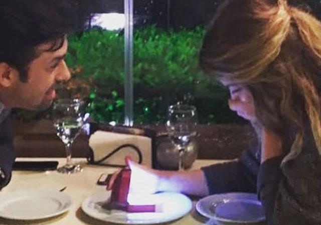 Oyuncu Umut Sezgin'den sevgilisine evlenme teklifi