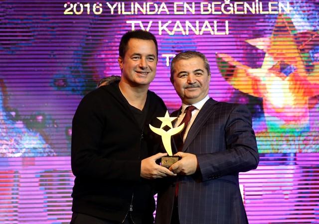Yılın en beğenilen kanalı ödülü TV8'e