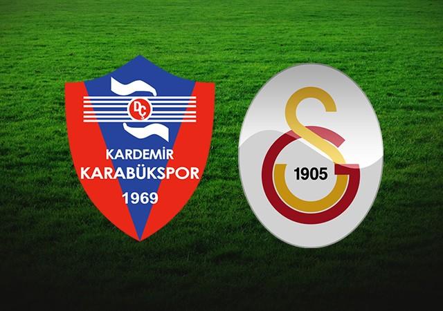 Karabükspor-Galatasaray maçında ilk 11'ler açıklandı!
