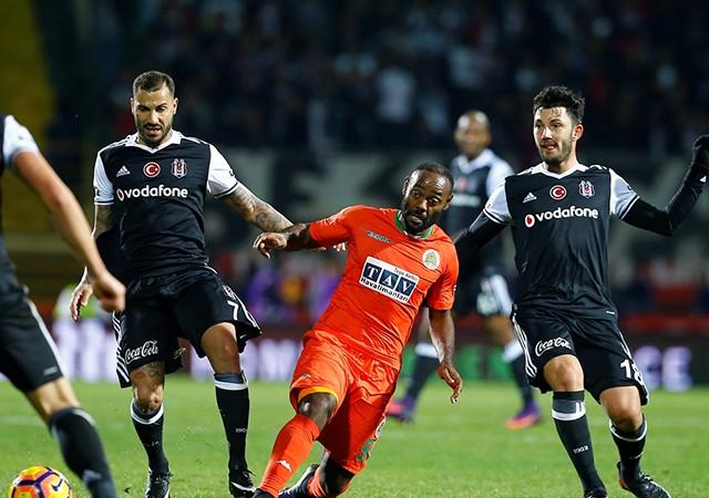 Aytemiz Alanyaspor Beşiktaş maç sonucu: 1-4