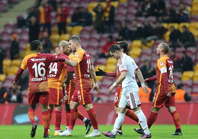 Galatasaray 6-2 Erzicanspor | Ziraat Türkiye Kupası Maç Sonucu