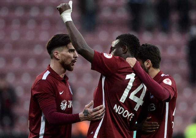Trabzonspor'dan Avni Aker' galibiyetle veda etti!