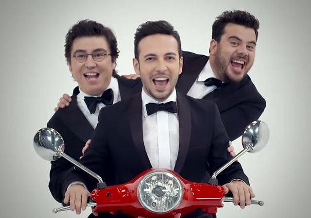 3 Adam bu akşam yeni bölümüyle TV8'de...