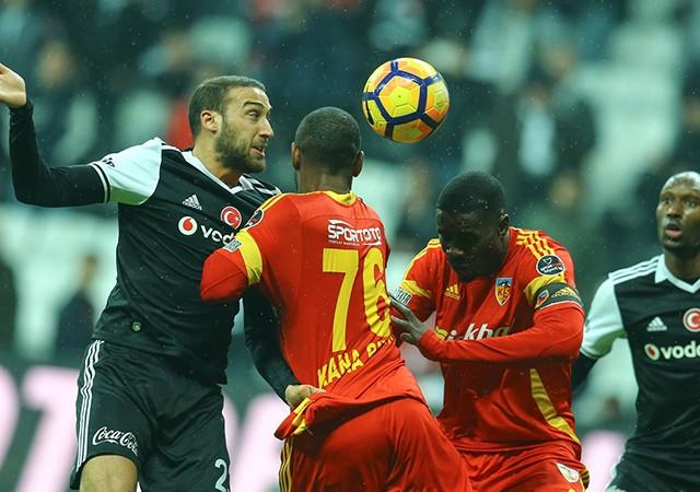 Beşiktaş 2-2 Kayserispor   Spor Toto Süper Lig Maç Sonucu