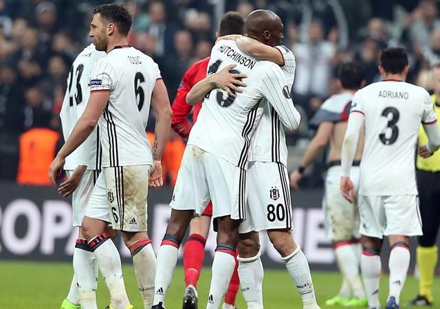 Beşiktaş Olympiakos karşısında tarih yazdı