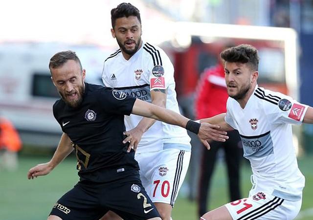 Osmanlıspor 0-2 Gaziantepspor / Spor Toto Süper Lig Maç Sonucu